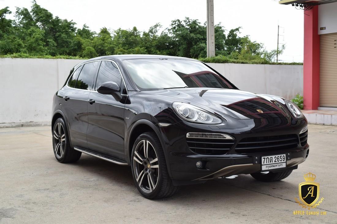 Porsche Cayenne 3.0 (ปี 2012) Diesel | Apple Luxury Car โชว์รูมรถหรูมือสอง