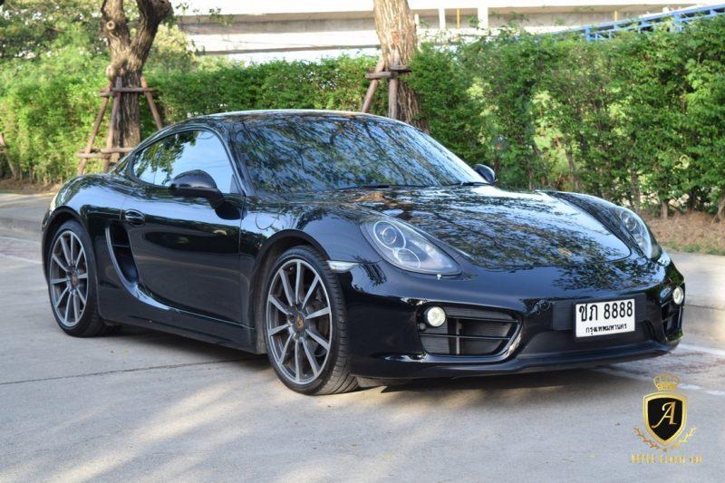 รถปอร์เช่ Porsche cayman 981 มือสอง